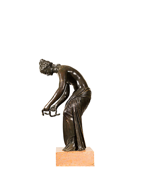 Italian Bronze Sculpture of Danaide