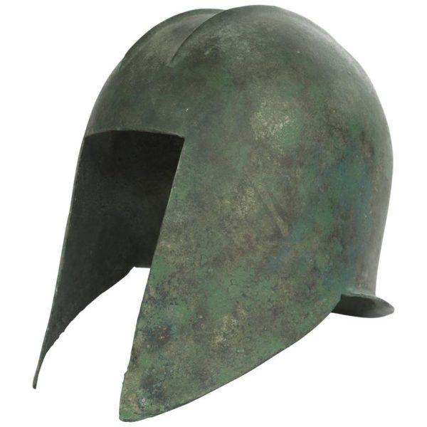 Greek Bronze Illyrian Helmet, Archaic Period