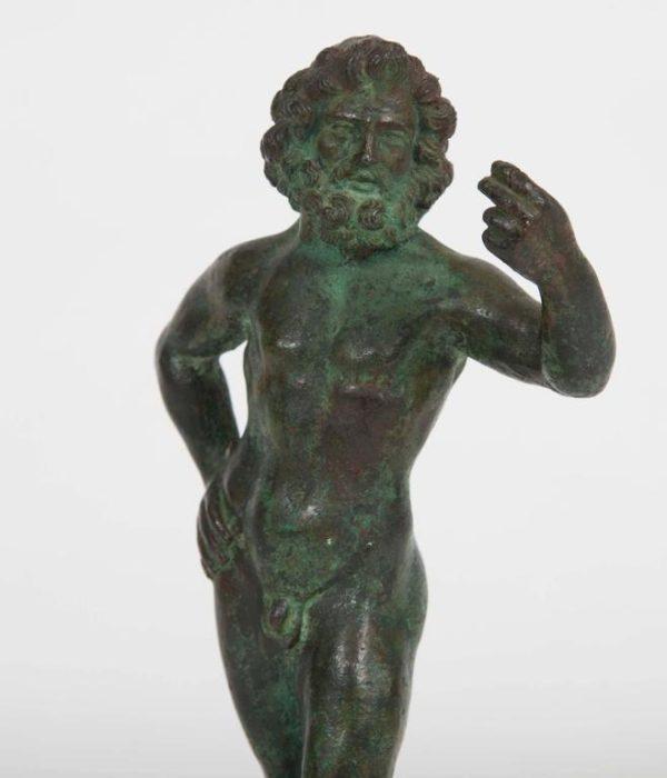 Bronze Figure of Zeus