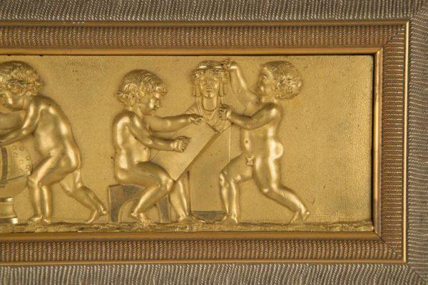 Gilt Bronze Relief Plaque
