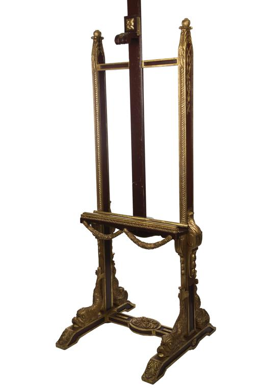 Louis XVI Style Carved Giltwood Easel