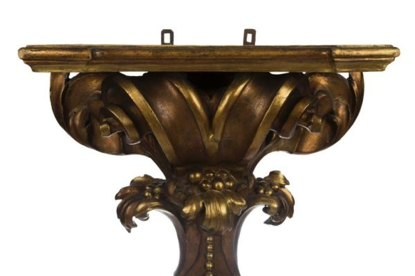 Pair of XIV Giltwood Roman Console Table