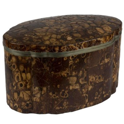 Large Tortoiseshell Lidded Box