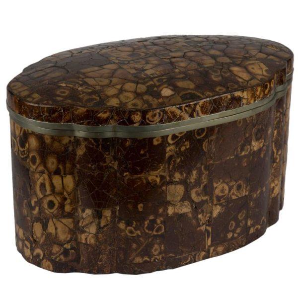 Large Tortoiseshell Lidded Box