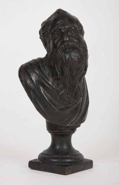 17th Century Venetian Renaissance Bronze Bust