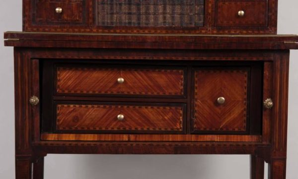 Late 18th Century Writing Desk with Marble Top