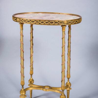 Louis XVI Style Gilt Bronze Gueridon
